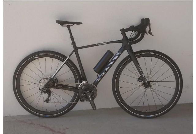 Speedmachine E bike powered by add-e